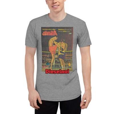 Dieselnoi vs Sagat Ruup Muay (Dark), incls XS - Tri-Blend Track Shirt variation