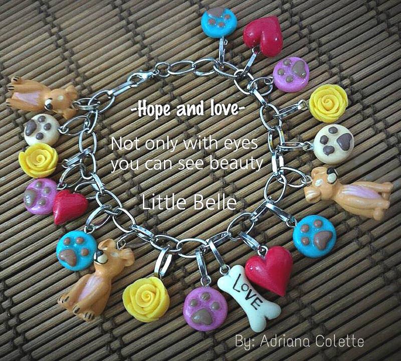 Little Belle Bracelet 'Hope and Love'
