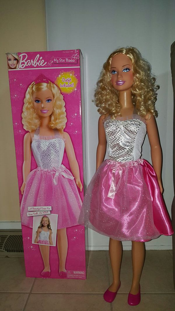 Box Careers Barbie Back