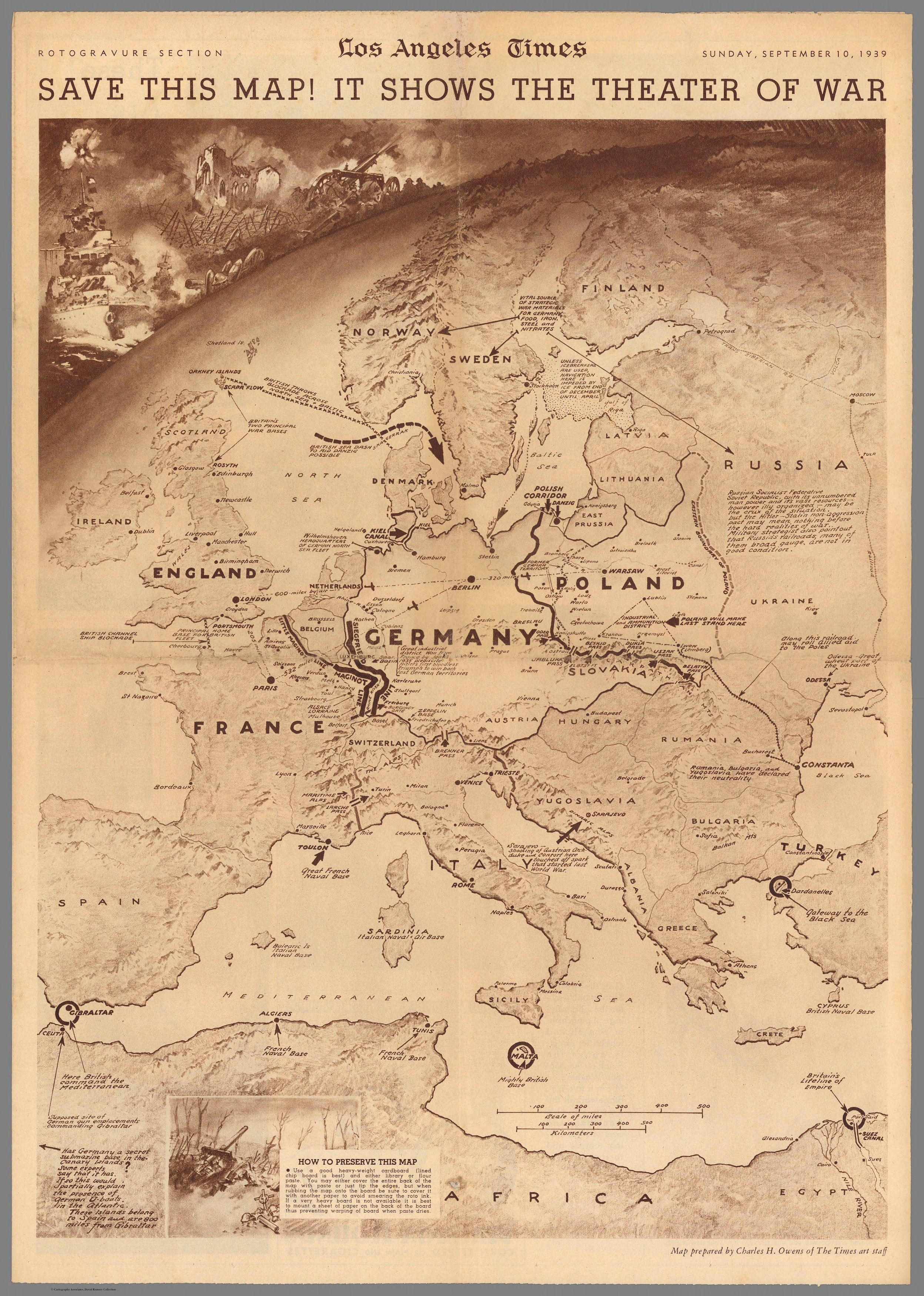 A Annotated Map Of Nazi Aggression And Emerging World