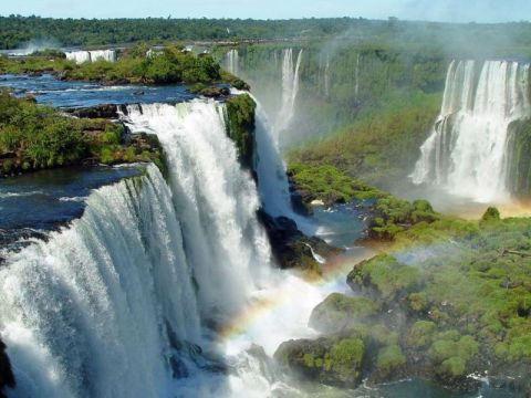 Sehenswürdigkeiten Südamerika: Iguazu Wasserfälle