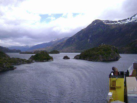 pont du NAVIMAG, les Fiords de Patagonie