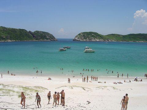 Strände Brasilien - Praia do Farol in Rio de Janeiro