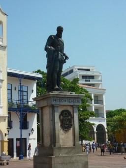 Gründer der Stadt Pedro de Heredia