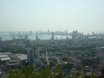 Sicht auf Cartagena