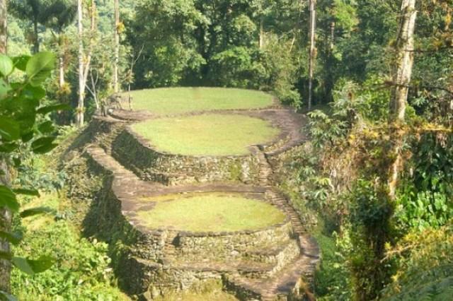 Ciudad Perdida National Park in Santa Marta Colombia