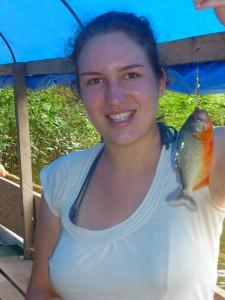 Pirahna fischen