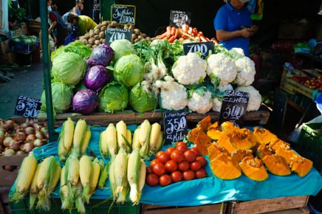 Market in Valparaiso, Chile