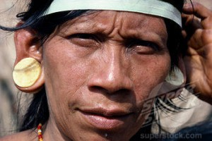 The long earlobes of the Incas