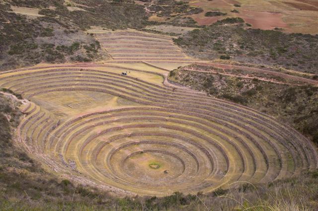 The terraces at Moray, Peru