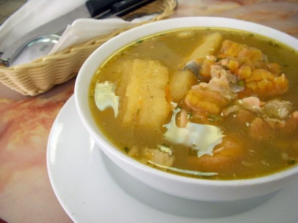 sancocho_de_pescado - kolumbien Spezialitäten