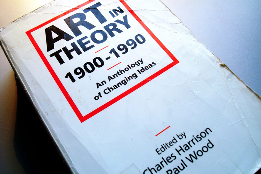 Image result for theory of art, book cover