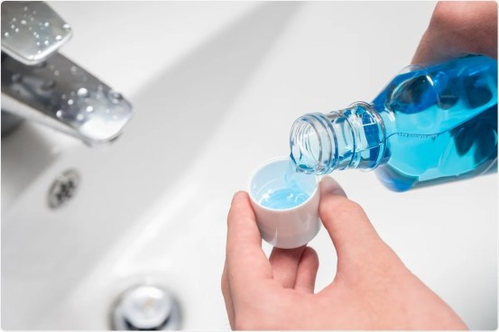 A common compound in mouthwashes found to inhibit SARS-CoV-2 in vitro