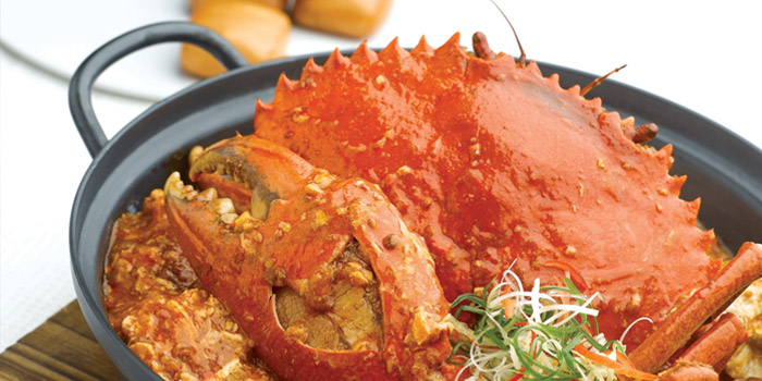 Image of the Chilli Crab at JUMBO Seafood in Dempsey, Singapore