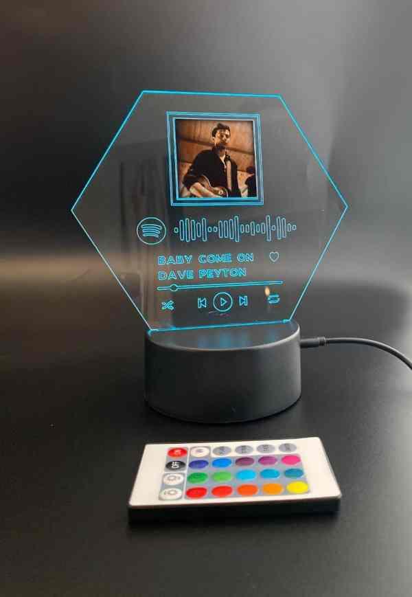LED Spotify Frame