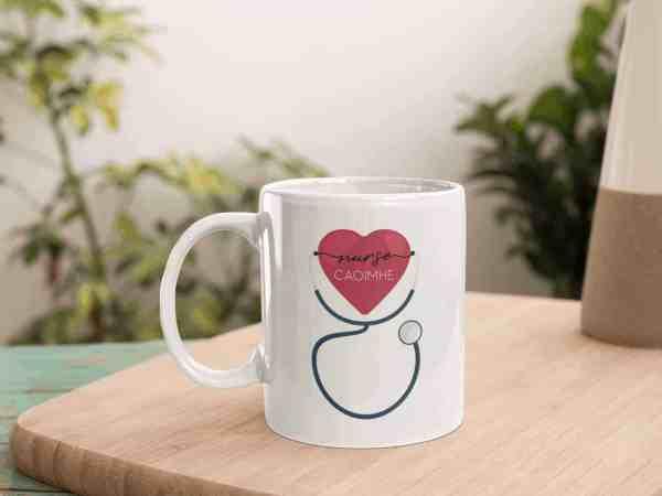 Nurse Name Mug
