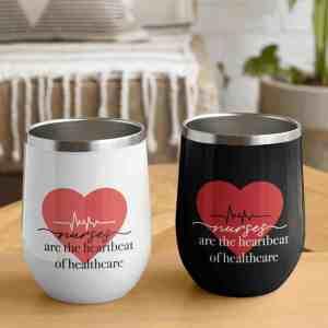 Nurses are the heartbeat of healthcare Tumbler