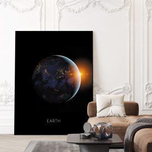 Planet Earth Art Print