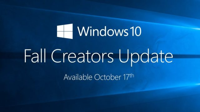 How to get Windows 10 Fall Creators Update