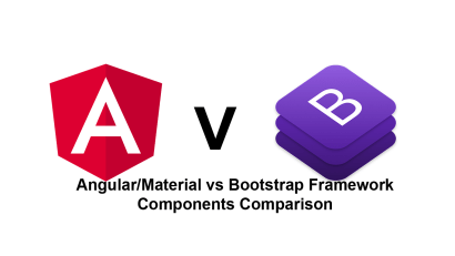Angular Material and Bootstrap Framework – Components Comparison