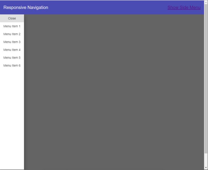 Responsive Navbar with Angular Material and Angular Flex Layout