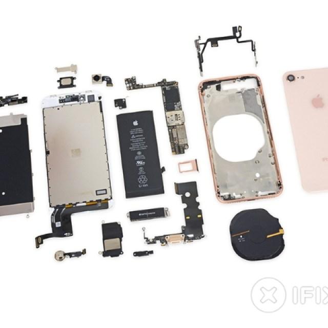 iPhone 8上市就被拆 iFixit評價維修難度一般
