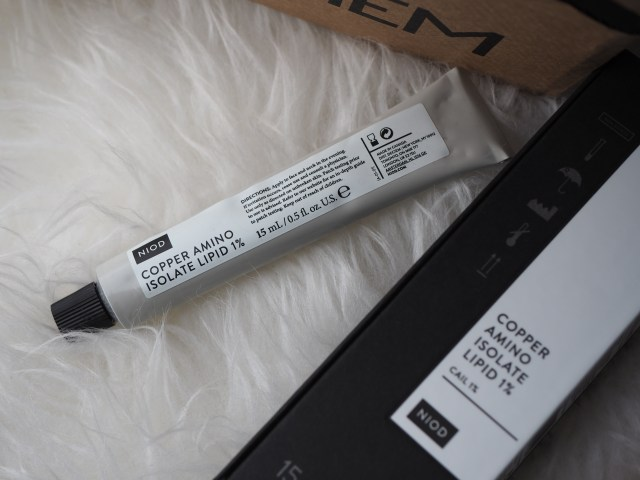 The Packaging- metal tube black card box