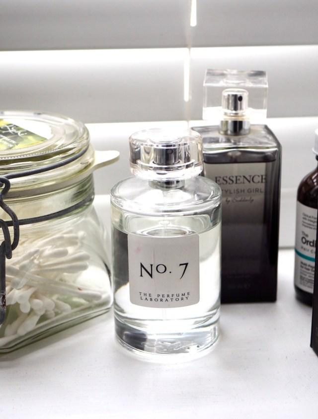 Fragrance in Skincare- perfume bottle