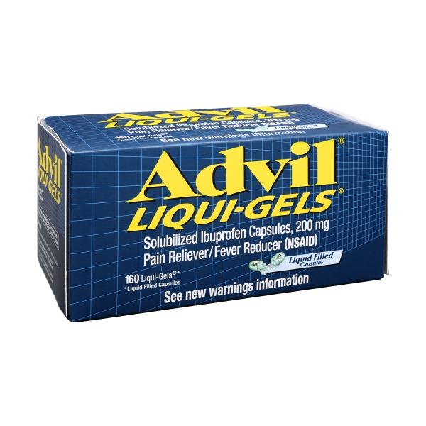 Advil Solubilized Ibuprofen Capsules 200 Mg Liqui Gels from Safeway ...