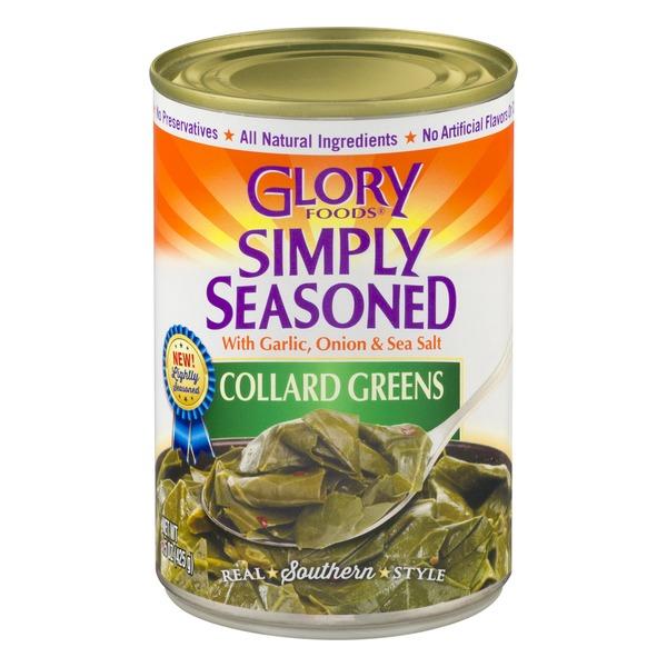 Glory Foods Simply Seasoned Collard Greens from Kroger