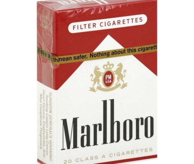 Marlboro Cigarettes Filter