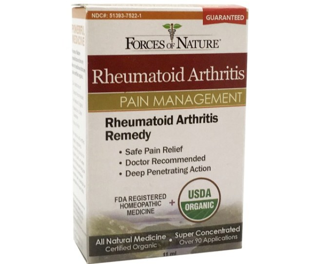 Forces Of Nature Pain Management Rheumatoid Arthritis