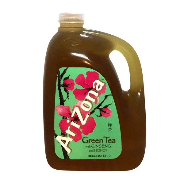 AriZona Green Tea with Ginseng and Honey from Straub39s