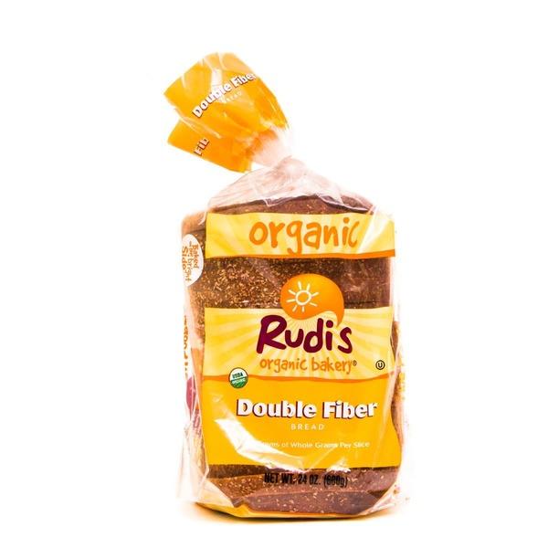 Rudi39s Organic Bakery Double Fiber Bread from HEB
