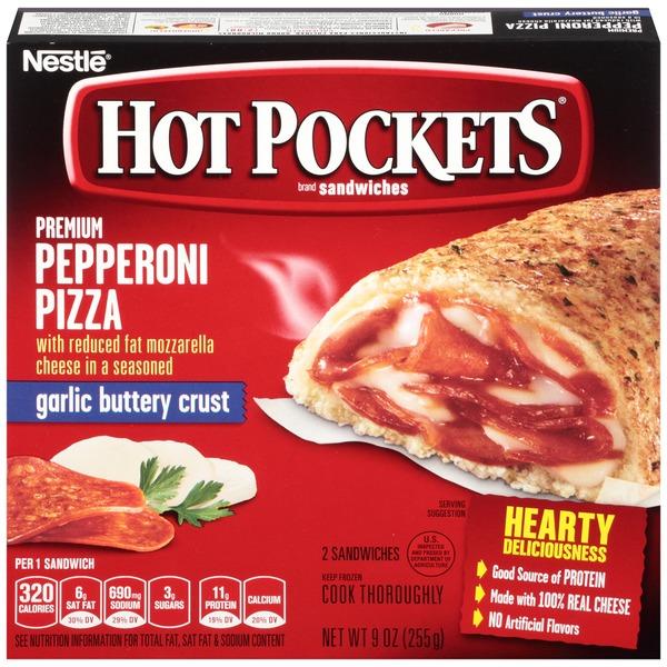 32 hot pocket food label labels