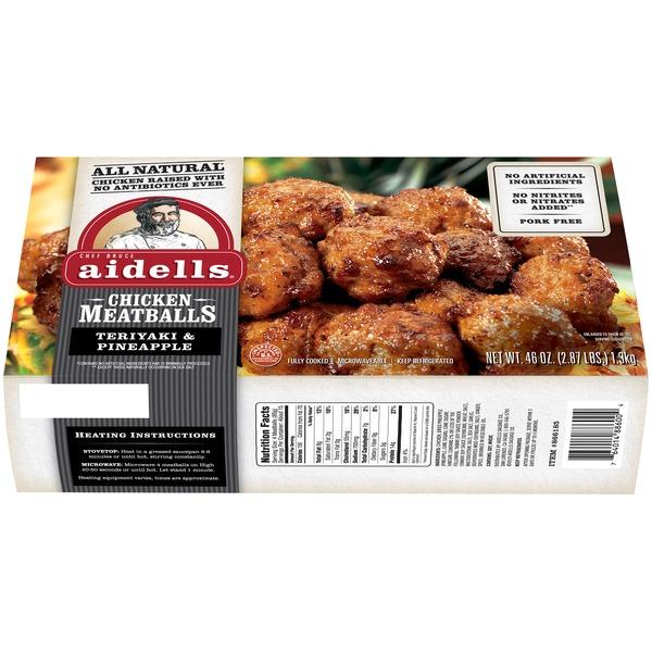 aidells teriyaki pineapple chicken