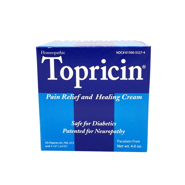Topricin Pain Relief & Healing Cream (4 oz) from Natural ...