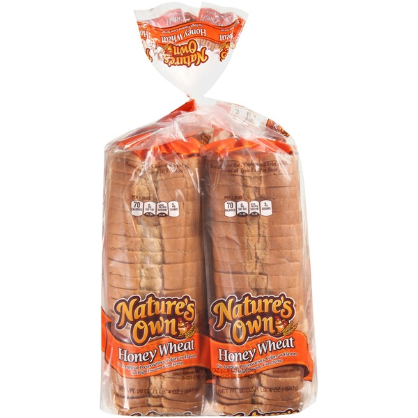 Nature39s Own Honey Wheat Enriched Bread 20 oz from