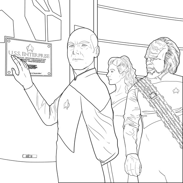 star trek coloring pages # 11
