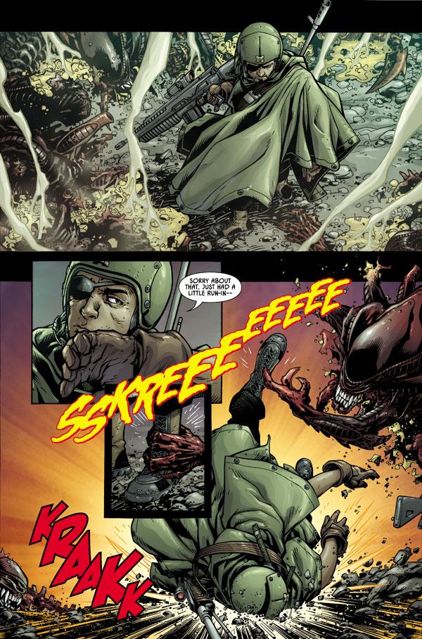 Aliens 1 Profile Dark Horse Comics