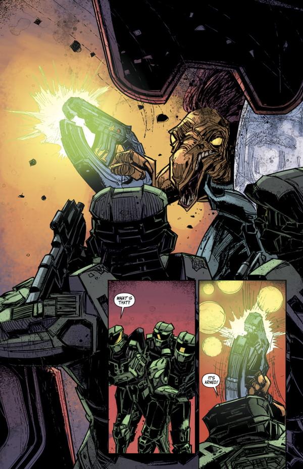 Halo Fall Of Reach Tpb Profile Dark Horse Comics