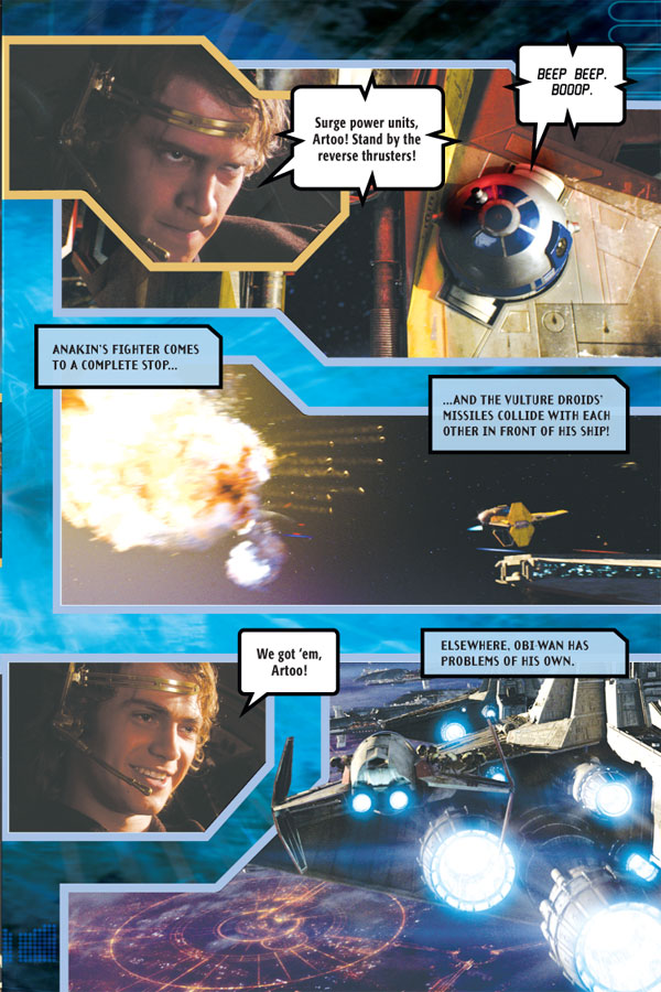 Star Wars 9 Star Wars: Episode III--Revenge of the Sith Photo Comic ...