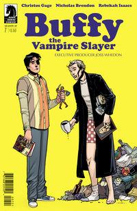 Buffy the Vampire Slayer: Season Ten #7 (Rebekah Isaacs variant cover)