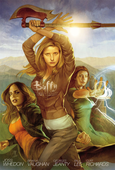 Buffy the Vampire Slayer Season Eight Library Edition HC Volume 1