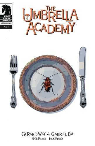 Image result for the umbrella academy hotel oblivion #1