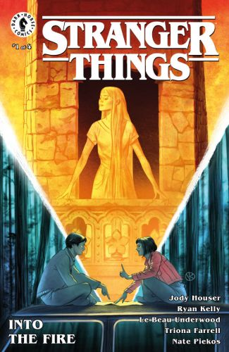 Image result for stranger things into the fire #1