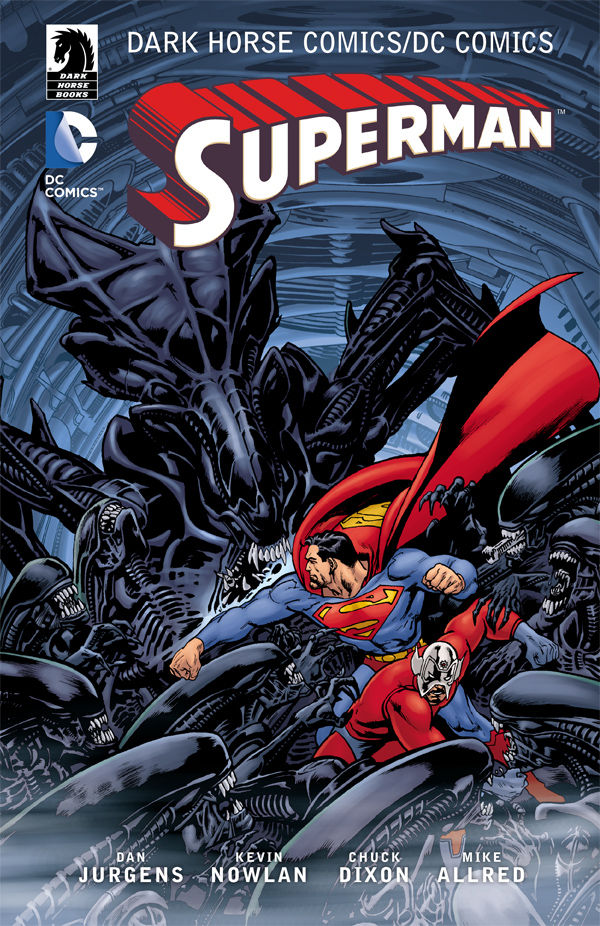 The Dark Horse Comics/DC: Superman TPB :: Profile :: Dark ...