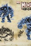 Monsters Unleashed #5 (of 5) (Kubert Monster Variant Cover Edition)