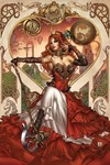 Grimm Fairy Tales Steampunk Alice In Wonderland (Cover C - Krome)
