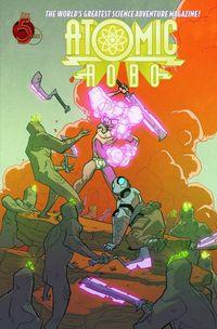 Atomic Robo Savage Sword Of Dr Dinosaur #4 (of 5)